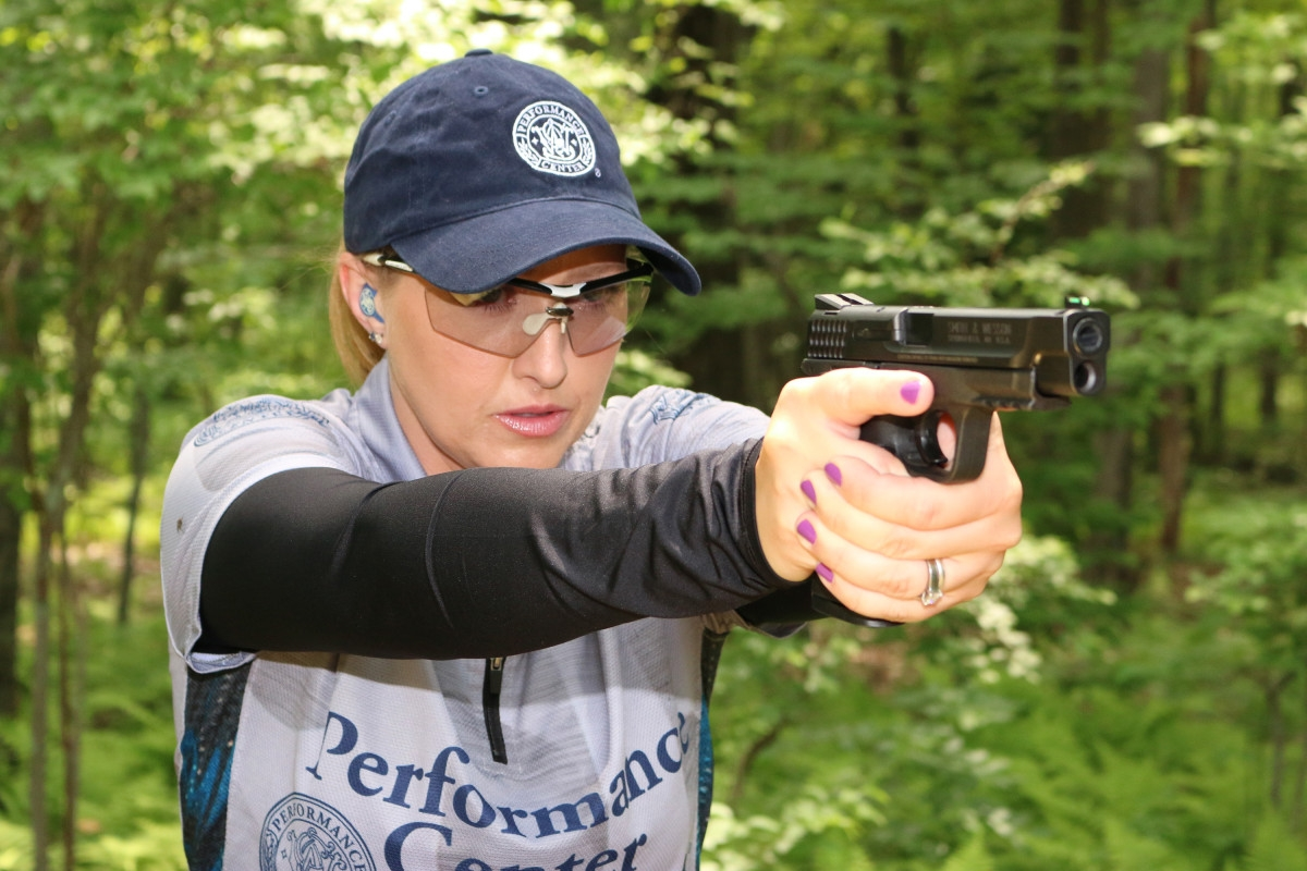 The M&P series of pistols is the flagship product line from Smith & Wesson, and is now one of the world's most highly regarded line of handguns for all purposes