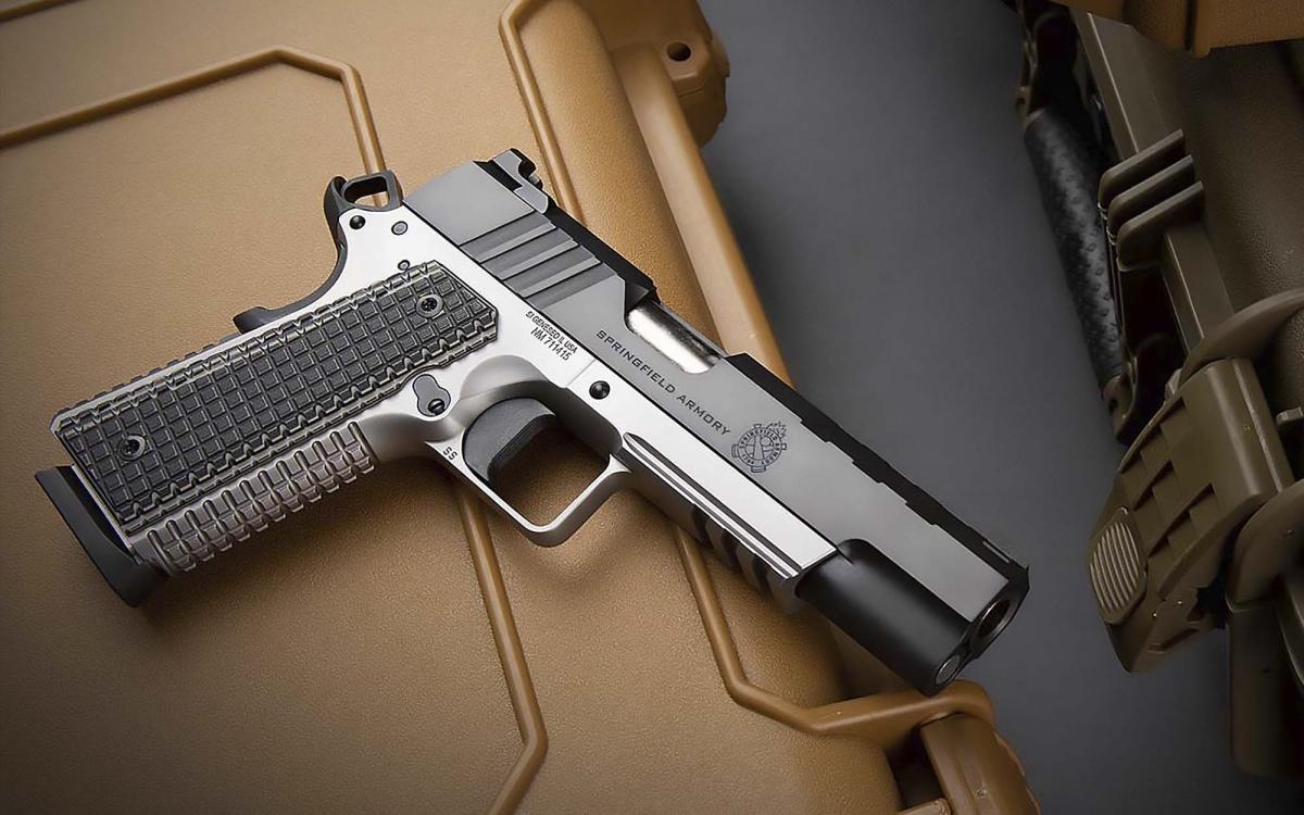 Springfield Armory Emissary, la nuova pistola 1911 in .45 ACP