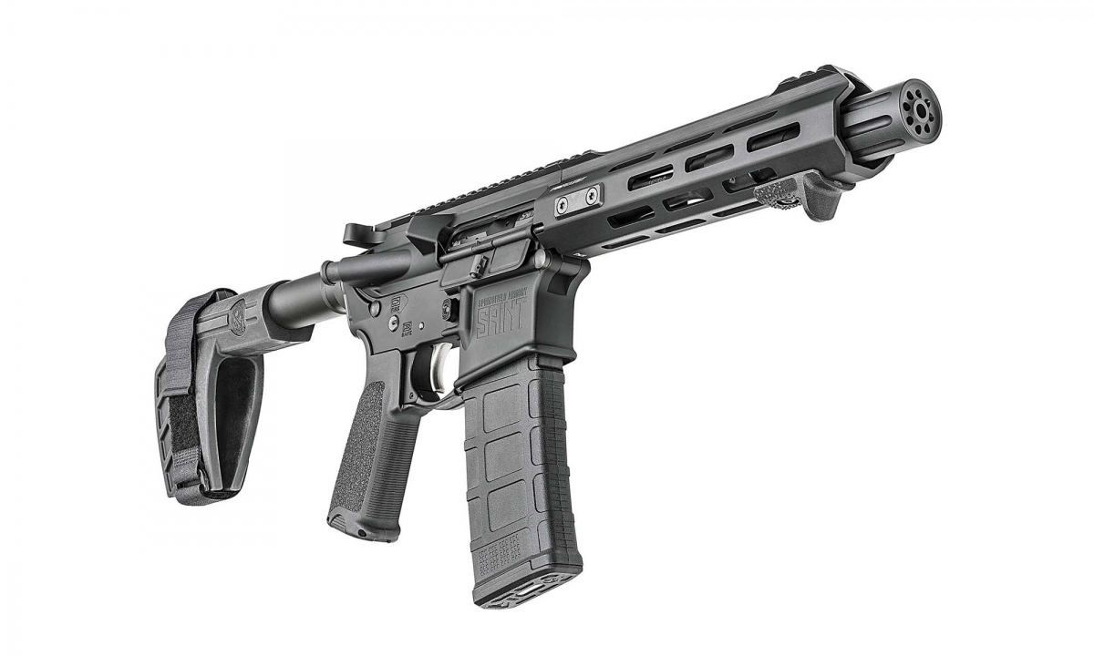 Springfield Armory officially announced the launch of the SAINT AR-15 pistol