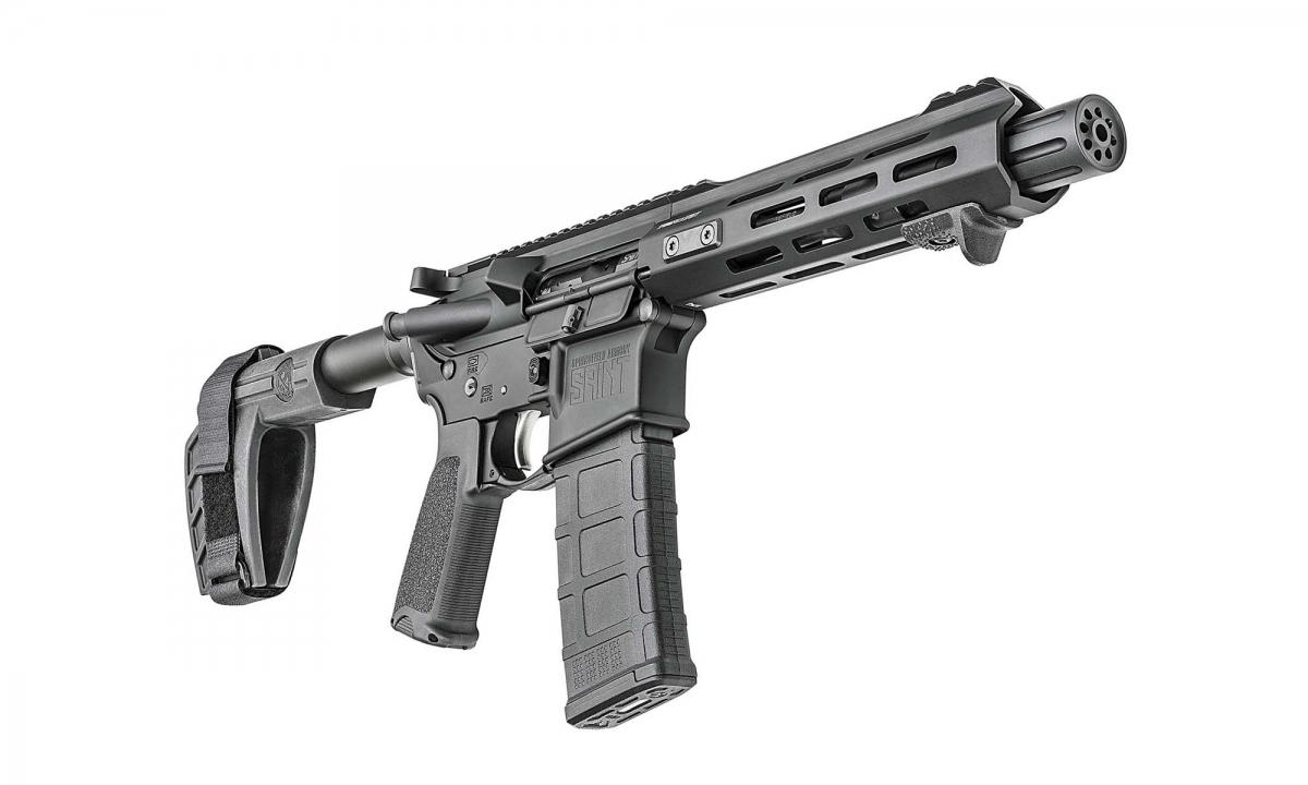 La Springfield Armory ha ufficializzato il lancio della pistolona SAINT AR-15 Pistol