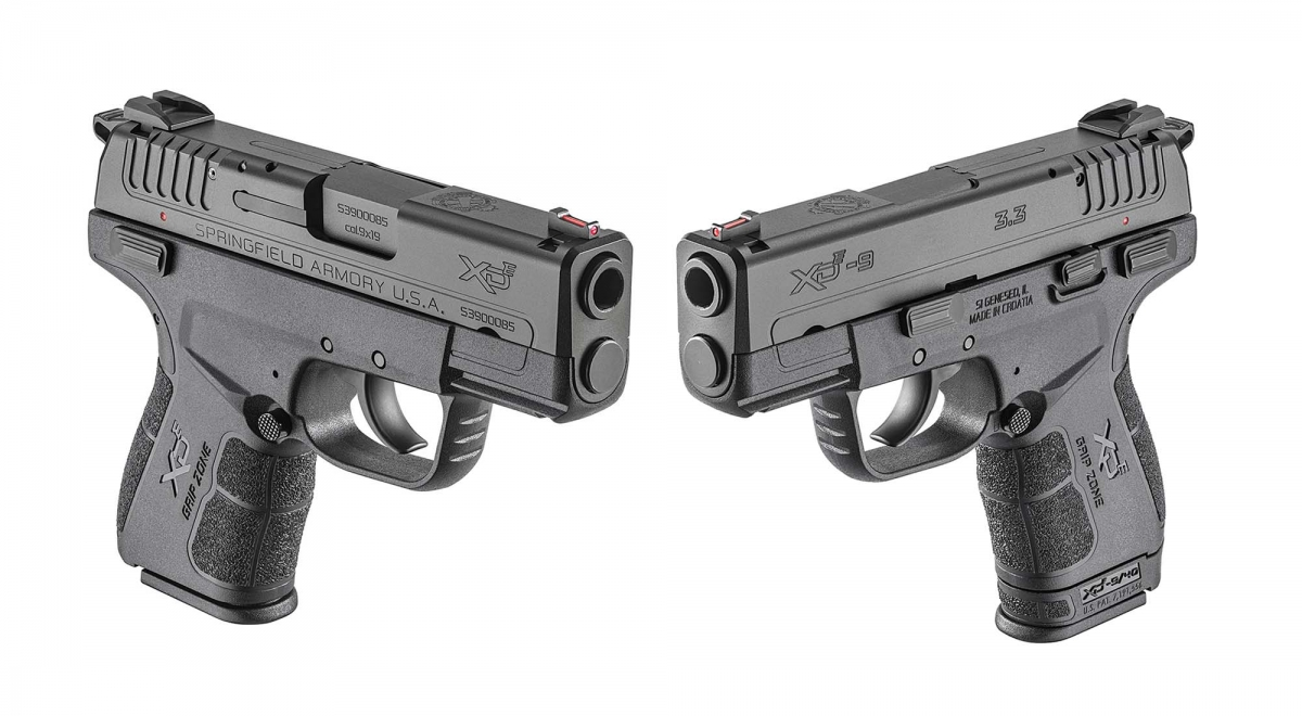 Springfield Armory's new XD-E hammer-fired pistol: concealed carry... redefined