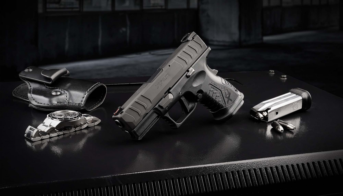 "Springfield Armory introduces the XD-M Elite 3.8"" Compact semi-automatic concealed carry pistol, boasting all the improvements of the Elite series in a high capacity package for personal defense!"
