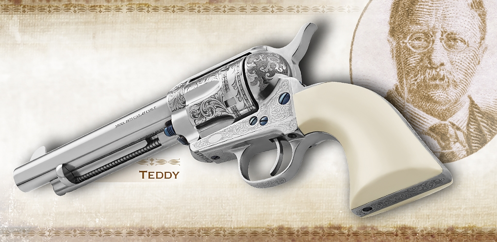 "Uberti Hardin and Teddy revolvers: the new models of the Uberti ""Outlaws & Lawmen"" line"