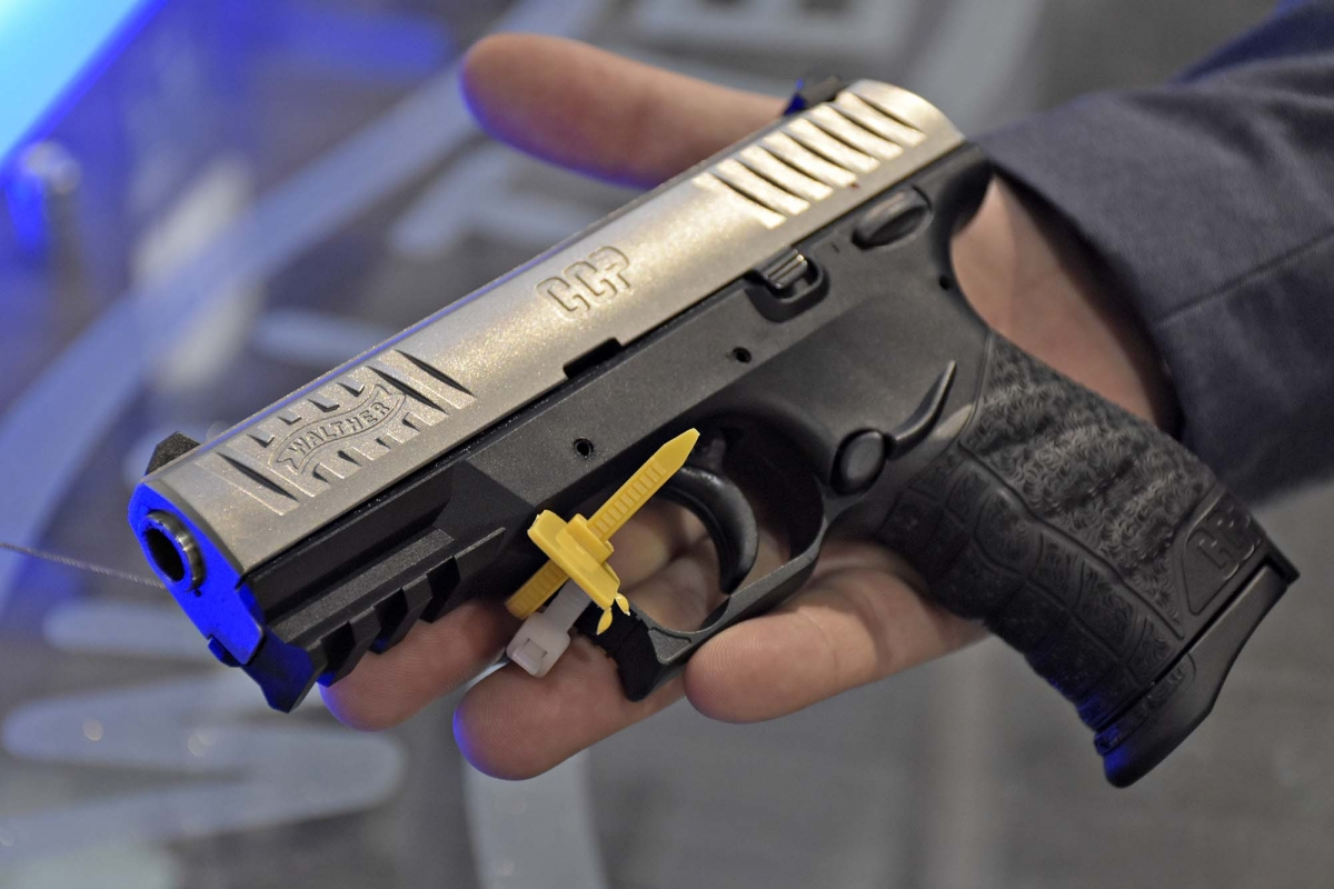 Walther CCP seiautomatic pistol