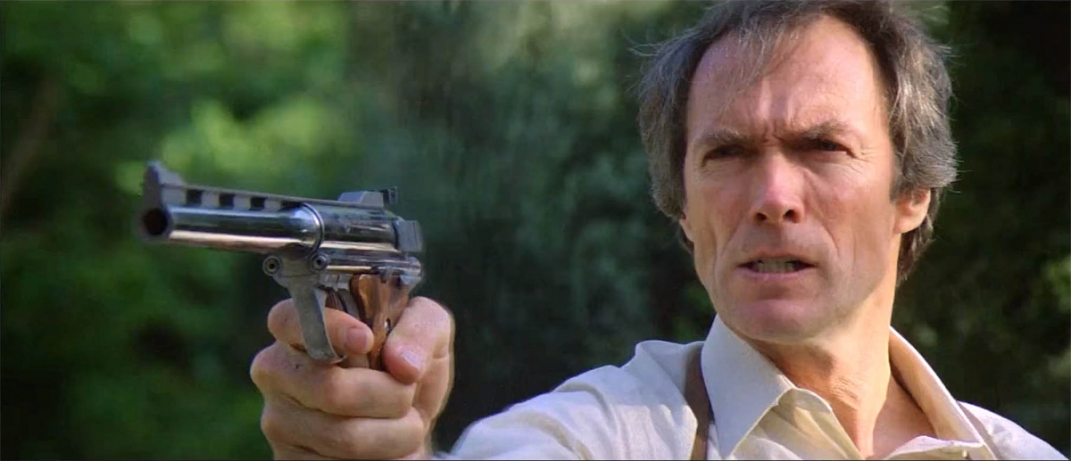"Clint Eastwood in ""Sudden Impact"" (1983)"