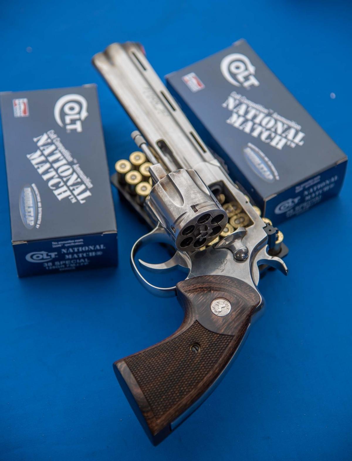 The Colt Python revolver is back!