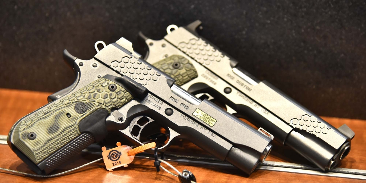 Kimber KHX pistols