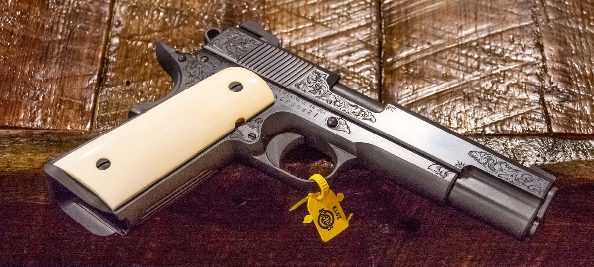 Pistola Nighthawk Custom VIP Black calibro .45 ACP