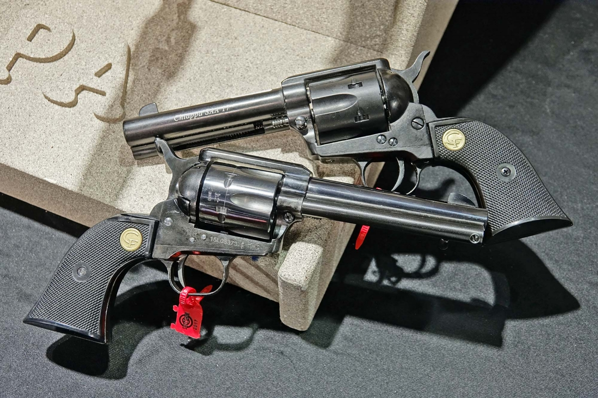 Chiappa Firearms 1873 SAA revolvers: the new models for 2017