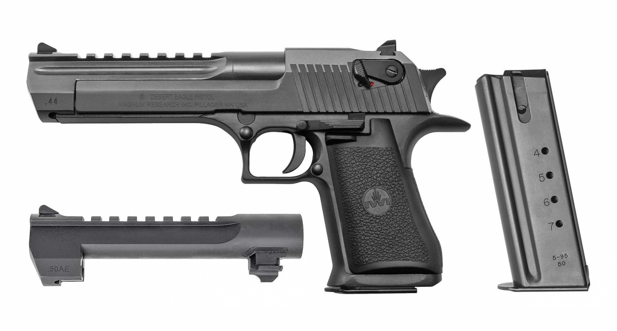 Magnum Research: il Combo Caliber Package per la Desert Eagle: