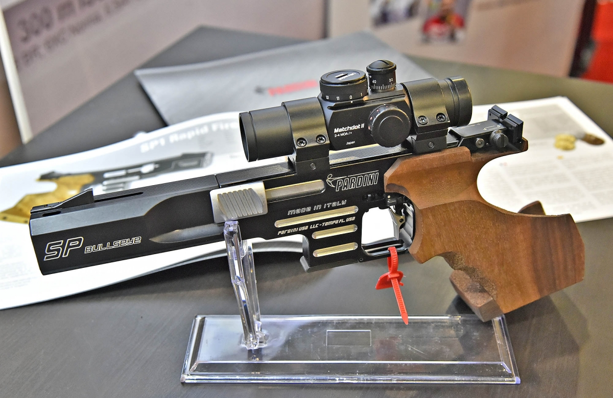 Pardini Guns USA introduced three new products at the 2017 SHOT Show in Las Vegas