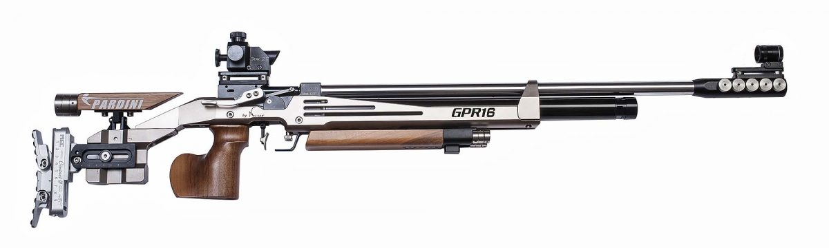 Pardini's new GPR16 high-powered rifle