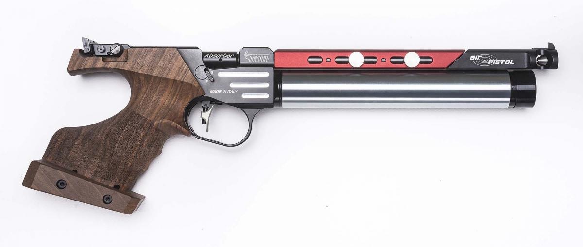 Pardini Armi's brand new K12 air pistol