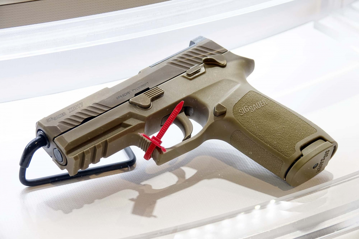 The first leaked photos of the pistol that won the Modular Handgun System (MHS) contract for the U.S. Army!
