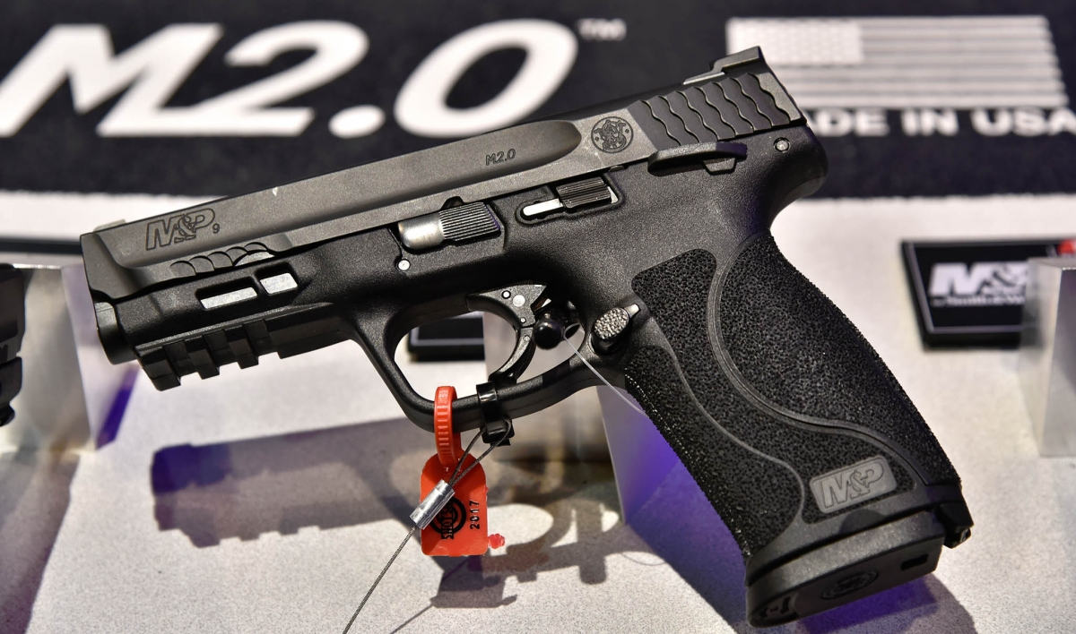 Smith & Wesson introduced the second generation of the M&P striker-fired pistols at the SHOT Show!