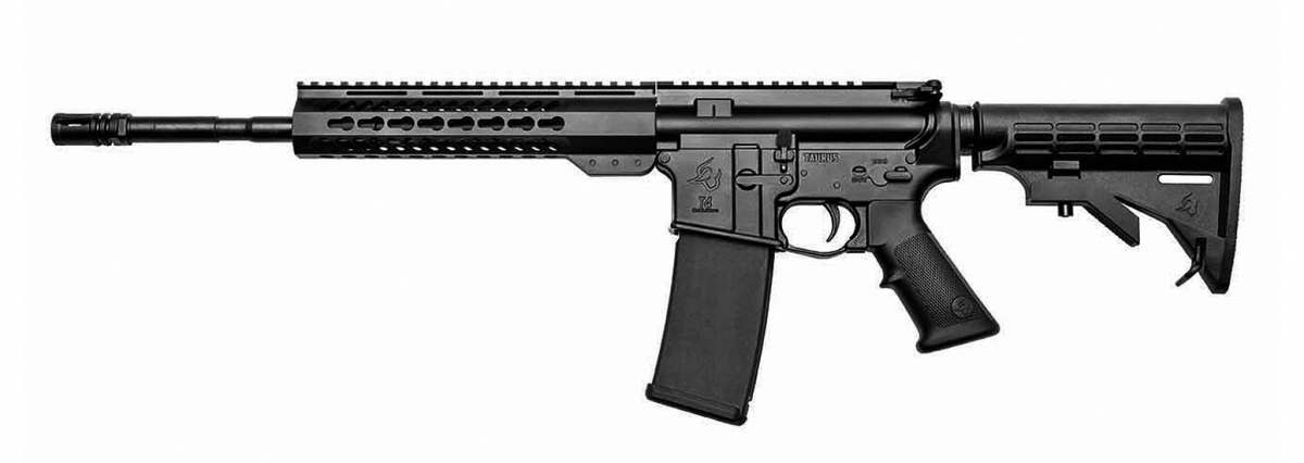 The T Series family is completed by a Black Rifle: the Taurus T4 rifle
