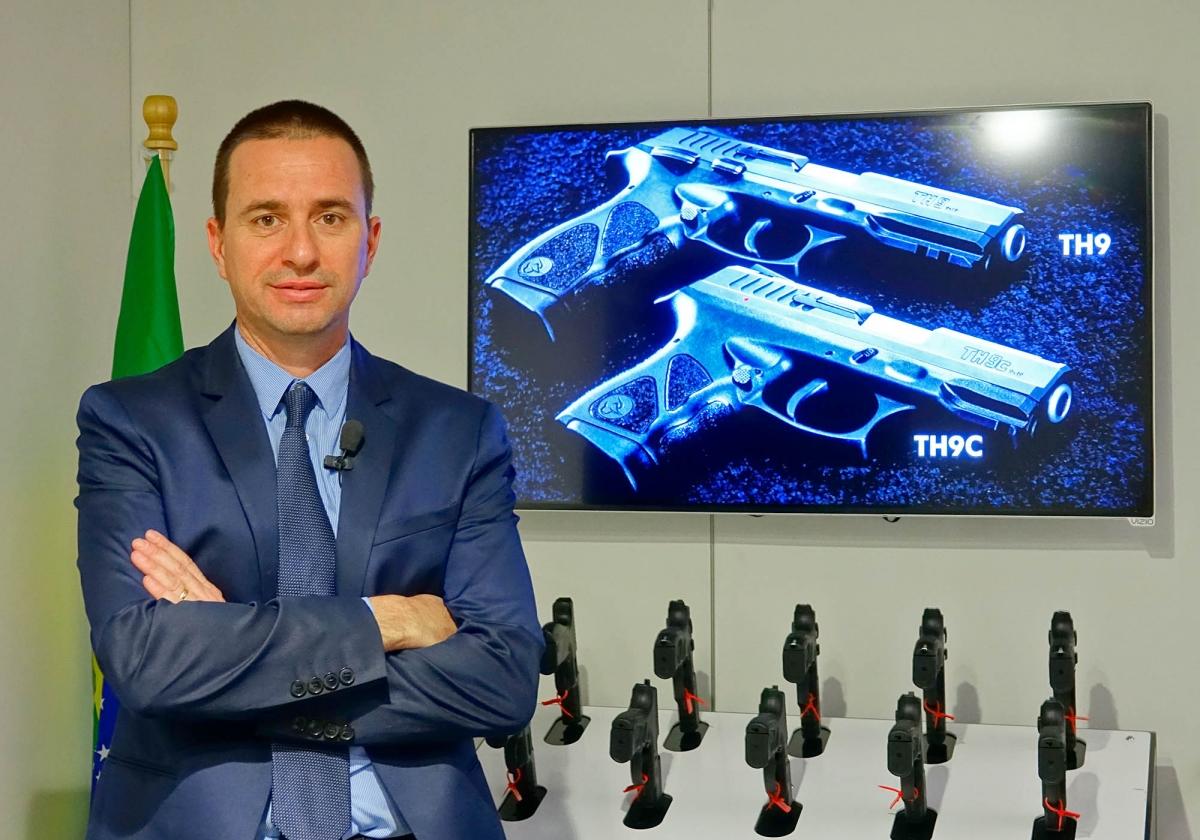 Eduardo Minghelli, International Sales and Marketing Director for Taurus Brazil