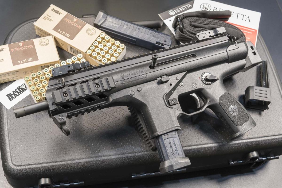 Video: pistola semiautomatica Beretta PMXs