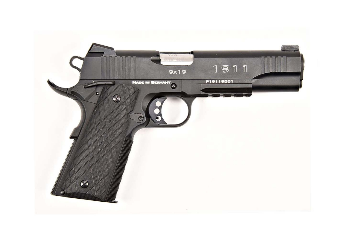 Schmeisser 1911 Pistol in 9mm caliber