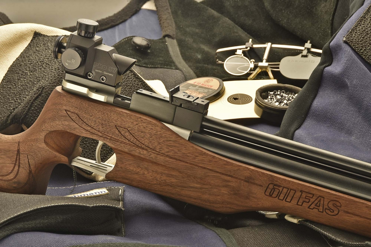 The Chiappa FAS 611 is a PCP air rifle that is a perfect choice as an entry level competition rifle, especially for young shooters and shooting training schools