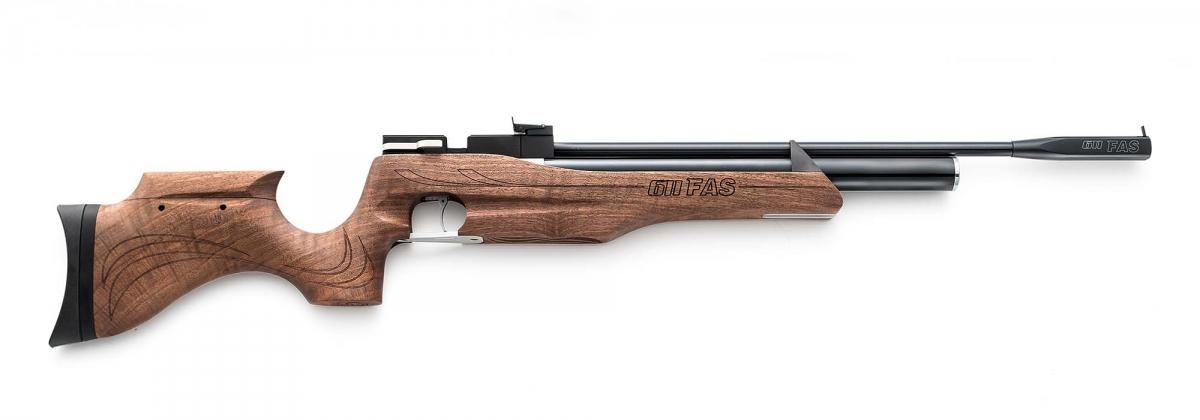 Carabina ad aria compressa Chiappa Firearms FAS 611, nella configurazione standard con mire metalliche