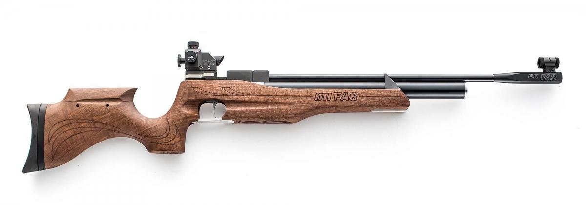 Carabina ad aria compressa Chiappa Firearms FAS 611, con mire da tiro a 10m opzionali montate