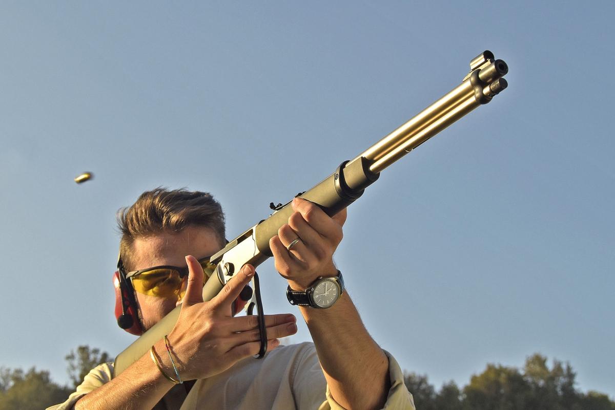 Le carabine Chiappa LA322 sono originali, interessanti e divertenti