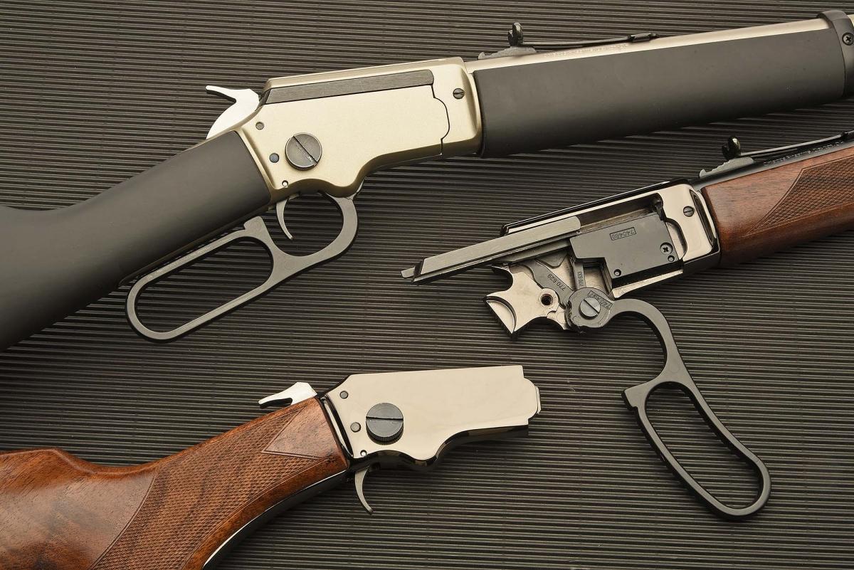 The LA322 are take-down rifles