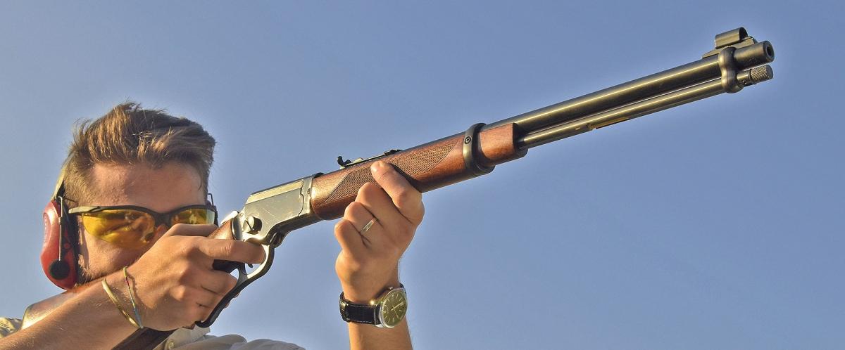 Le carabine a leva Chiappa LA322 sono divertenti!