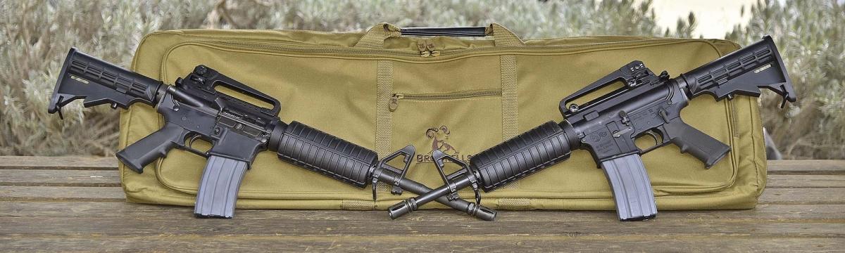 """The Colt Defense M4 Carbine 14.5"""" and the Colt Defense M4 Commando 12"""""""