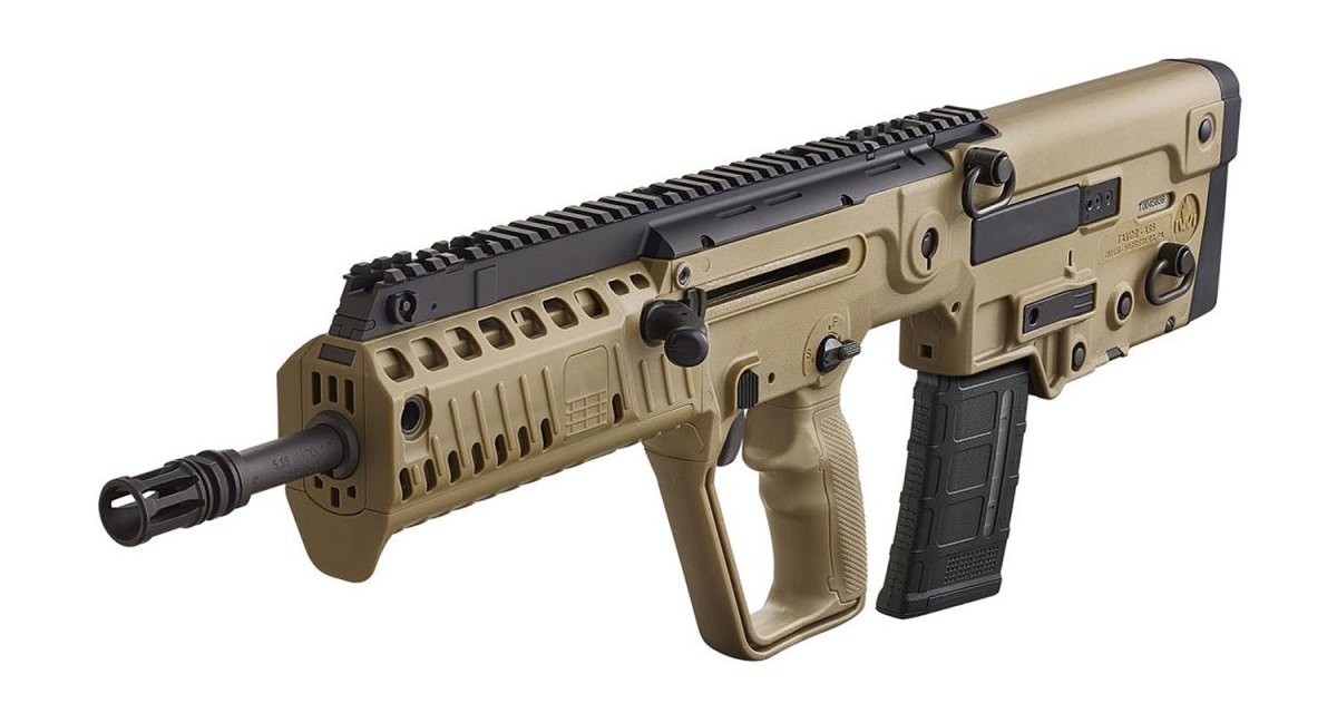 Il Tavor X95 è disponibile nelle varianti Black o Flat Dark Earth