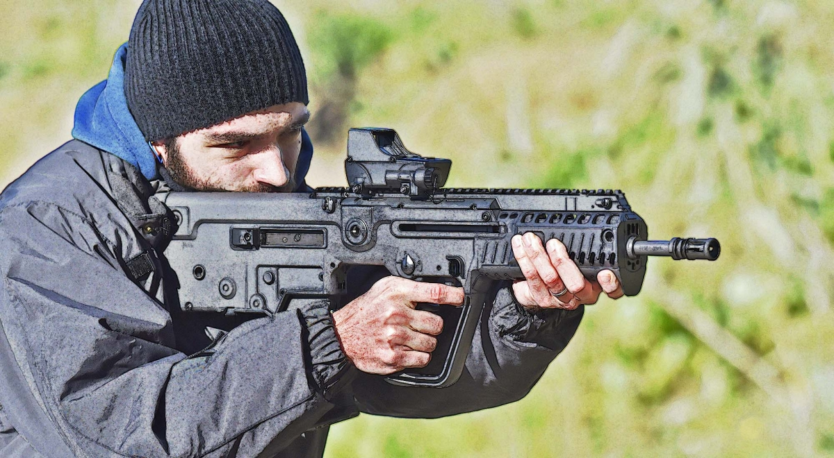 "IWI Tavor X95, the ""civilized"" warrior - THE ORIGINS"