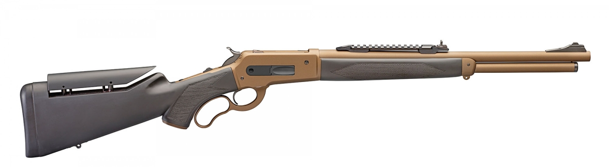 The Pedersoli Boarbuster Mark II lever-action rifle
