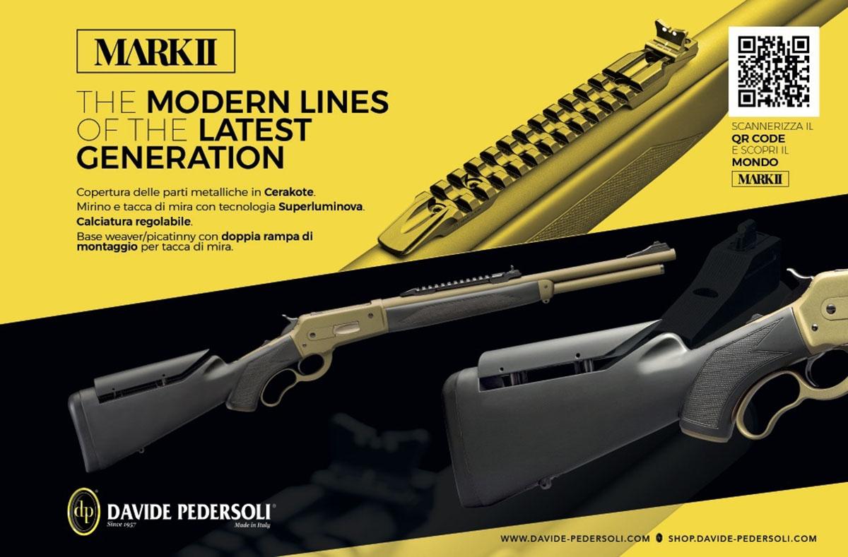 Pedersoli Boarbuster Mark II: il fucile a leva riprogettato