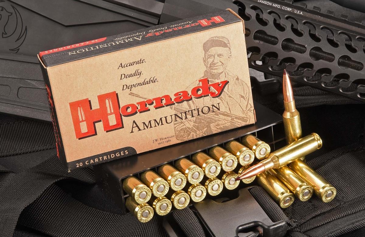 Il Ruger Precision Rifle è disponibile anche in calibro 6.5 Creedmoor, una cartuccia sviluppata e introdotta da Hornady nel 2007 esattamente per il tiro di precisione a lunga distanza