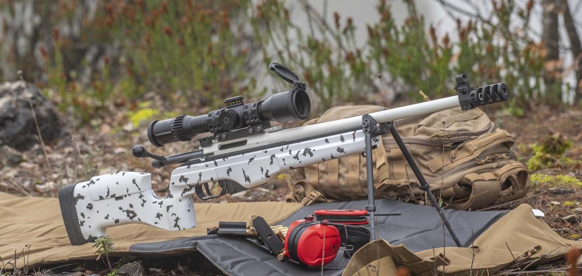 """Il fucile SAKO TRG 22 """"Finland 100"""" Jubilee Model in calibro .308 Winchetser"""