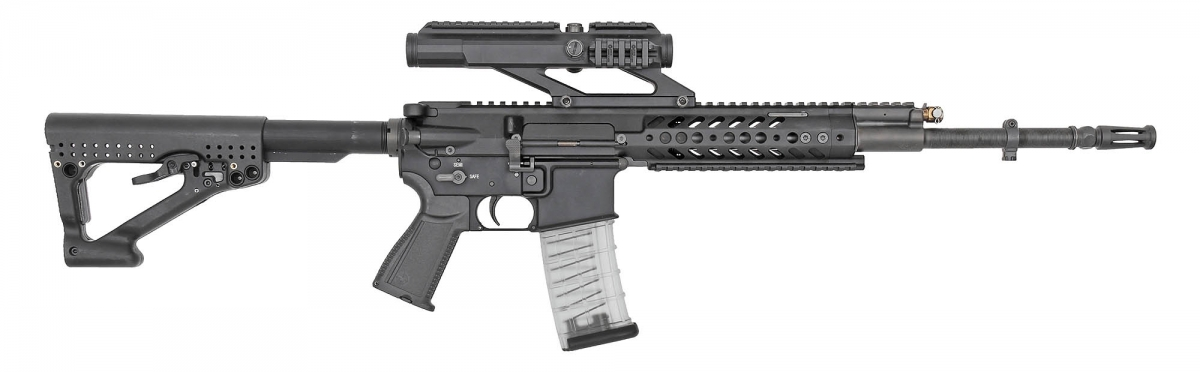 "The STM 556 is an entrant in the new German service rifle trial as the ""Rheinmetall-Steyr RS556"""