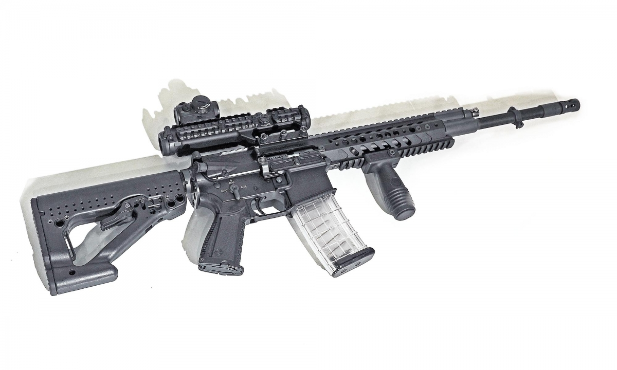 Steyr-Mannlicher showcased the STM 556 assault rifle in Nuremberg