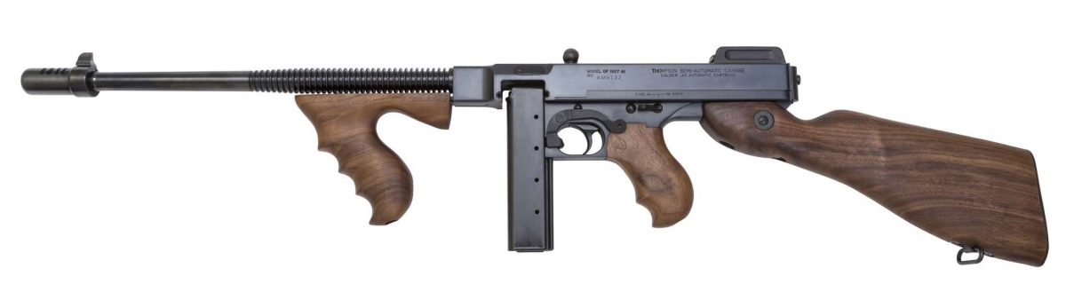 Auto-Ordnance Thompson T1-14 Semi-Auto Carbine, now available with short barrel