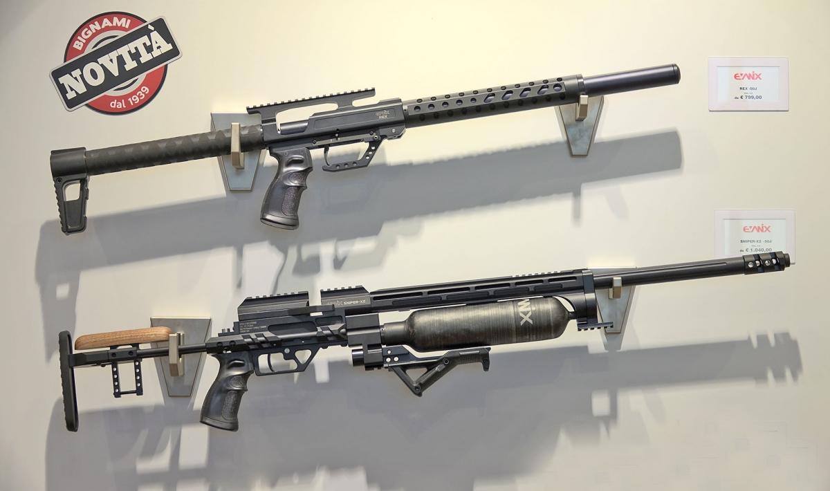 Arrivano in Italia tramite Bignami le nuove carabine ad aria compressa della sudcoreana Evanix