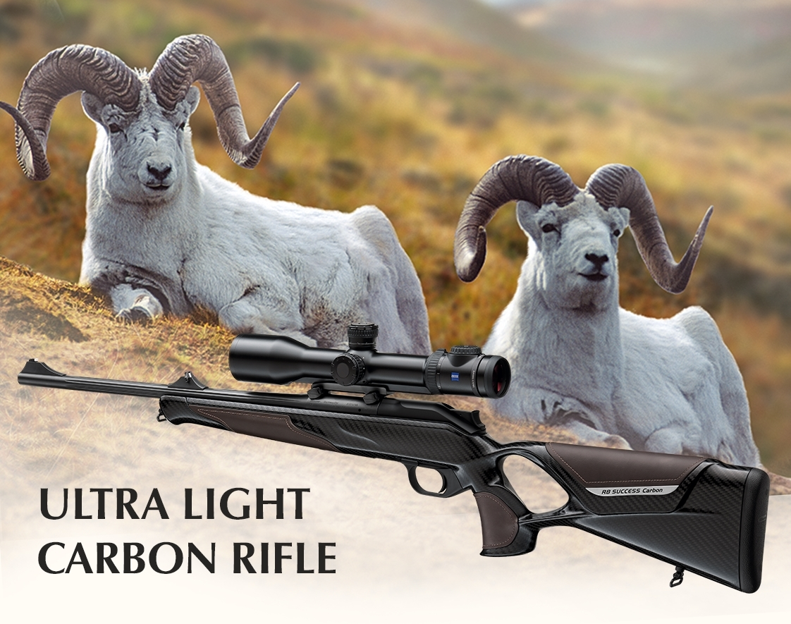 Introducing the R8 Carbon Success: the level of performance you should expect from your hunting rifle has just been raised again!