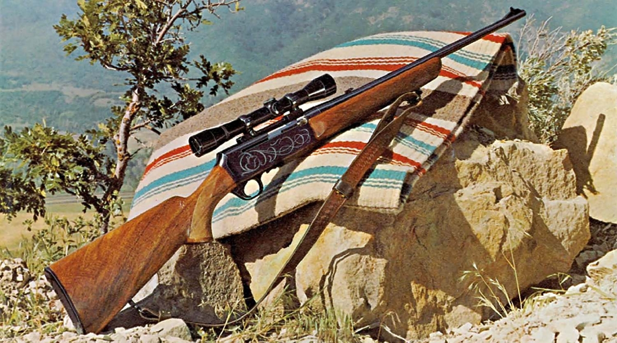 50 years of successsfull records: a Browning BAR rifle picture taken somewhere in 1966