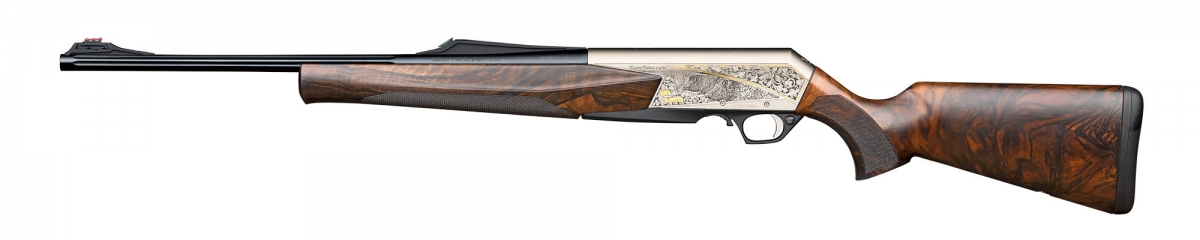 Left view of the 1,000 BAR MK3 50th anniversary rifles