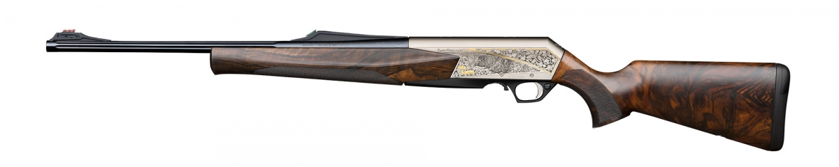 Left view of the BAR MK3 50th anniversary Exclusive edition rifles, restricted to 50 individually numbered rifles