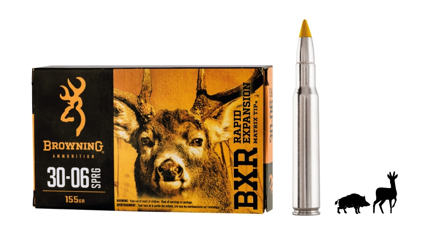 The Browning BXR Rapid Expansion ammunition