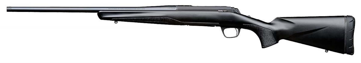 Browning X-Bolt SF Composite Black Threaded bolt-action hunting rifle – left side