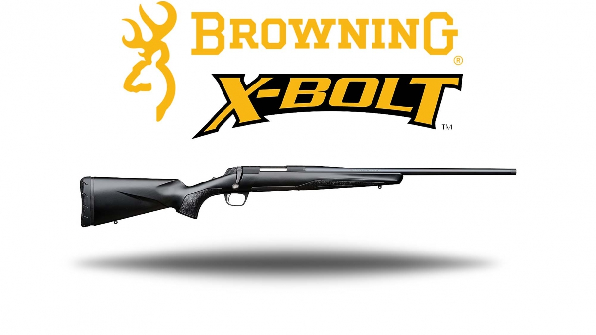 Browning introduces the X-Bolt Compo Black bolt-action rifle, available in five popular hunting calibers