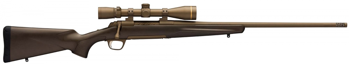 The Browning X-Bolt Pro Long Range is a semi-custom variant of the X-Bolt Pro model, launched by the same company in 2017
