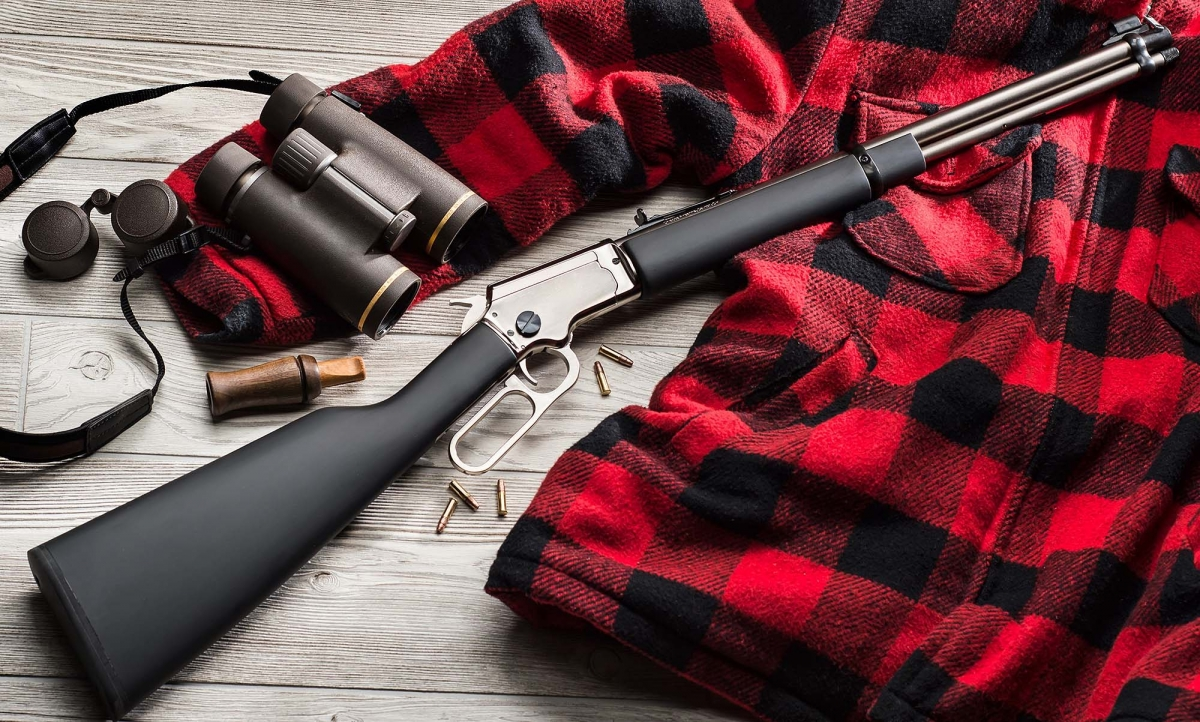 Carabina a leva Chiappa LA322 Kodiak Cub calibro .22 Long Rifle