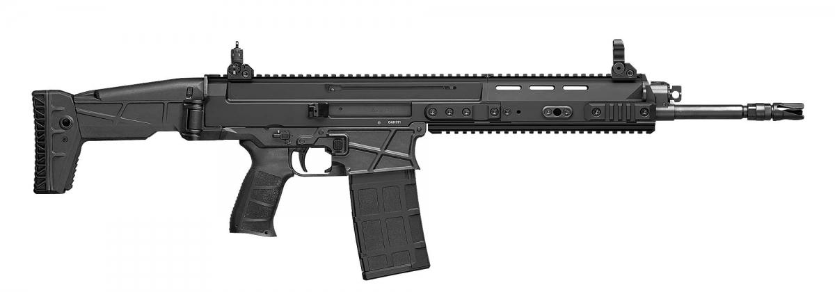 Il nuovo fucile da battaglia CZ BREN 2 BR visto dal lato destro
